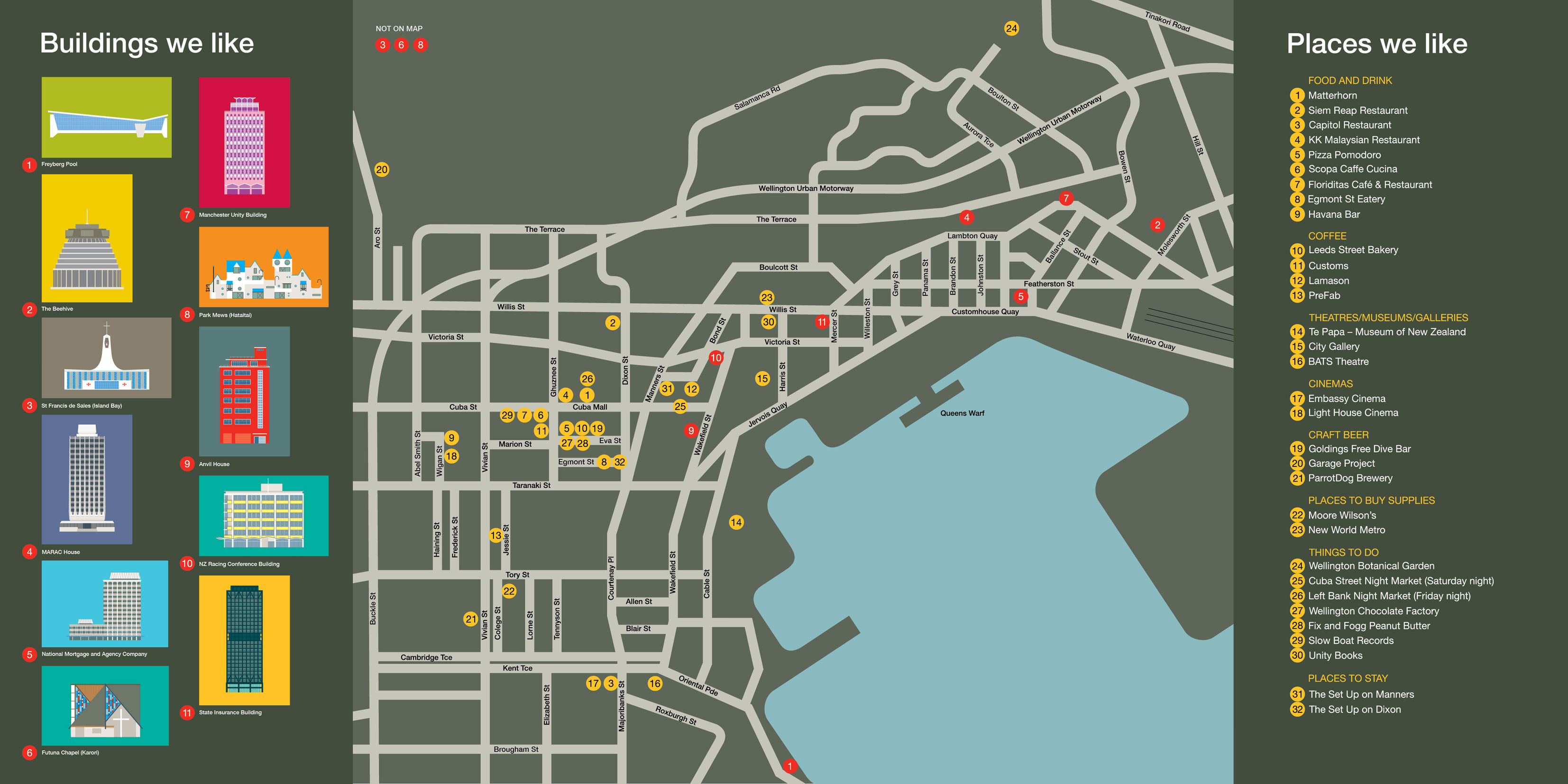 wellington map